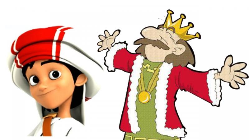 قصة الملك والفتى الصغير