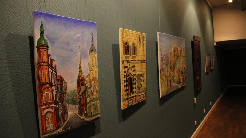 افتتاح معرض الفن السوري في هامبورغ