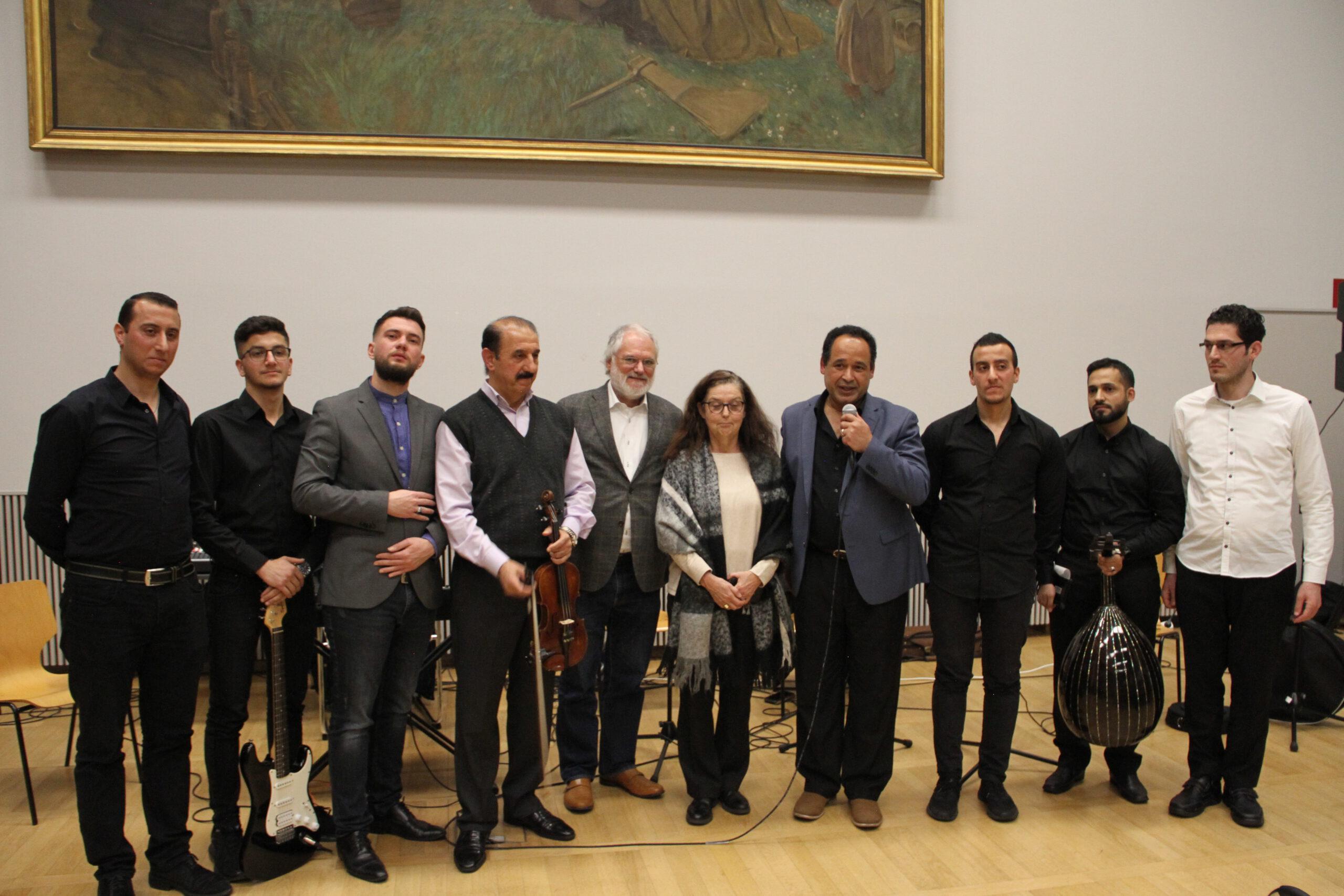 شعراء عرب يقدمون قصائدهم باللغة الألمانية