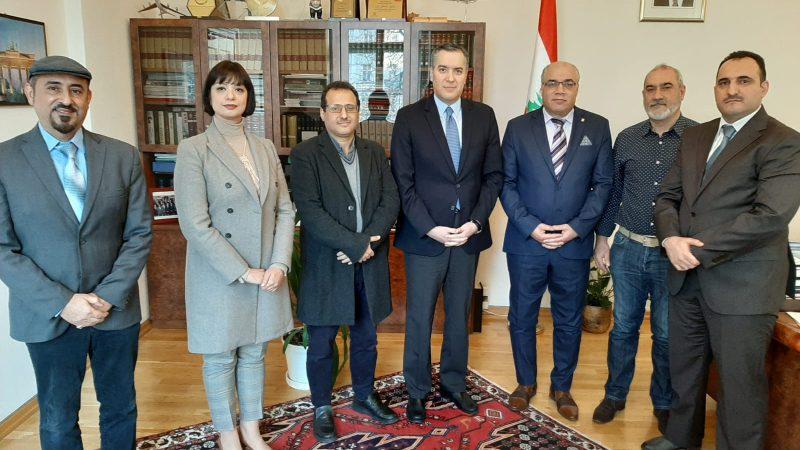 """عميد الدبلوماسيين العرب يقدر مبادرة """"ببلومانيا"""""""